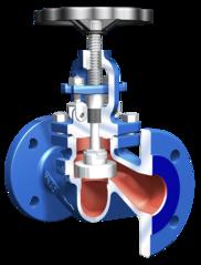 Запорный клапан для диапазона среднего давления STOBU